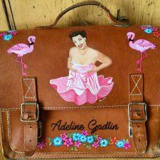 Pin Up Adeline Dadlin Ledertasche