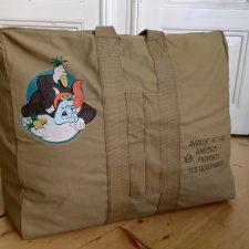 58th Bomb. Sqdn. Aviator Kit Bag Ananas