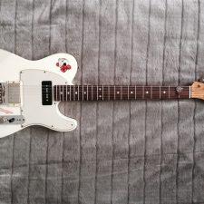 Gitarre Pin Up Painting 2